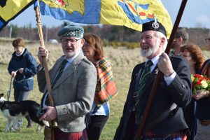 Clan Chattan marching together