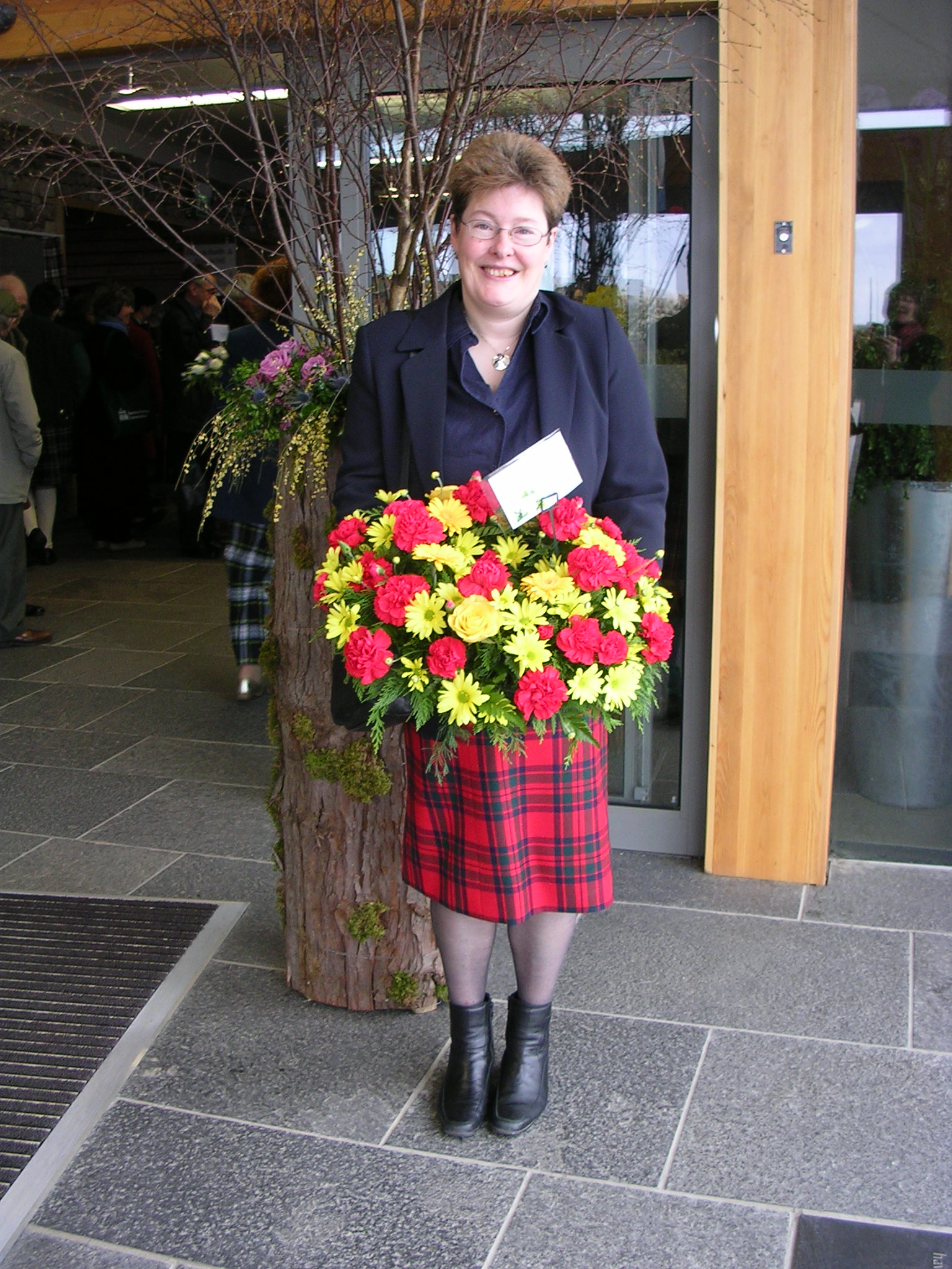 Louisa_Cross_at_new_Culloden_centre