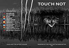 2012 First Edition of Touch Not Magazine front cover image