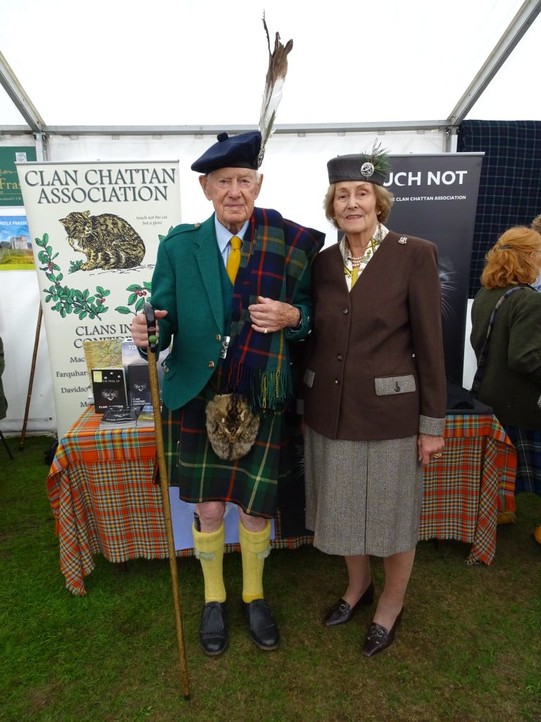 Capt. and Lady Farquharson of Invercauld